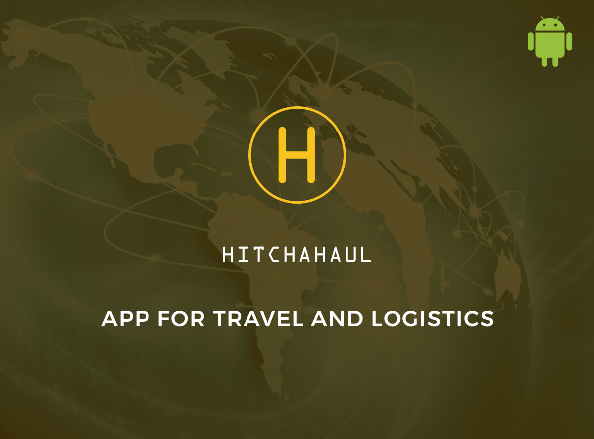Best app for travel and logistics - Hitchahaul