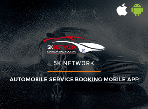 Automobile service booking mobile app - 5k