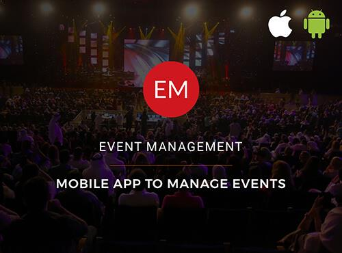 Mobile Application development - Event Management - Kaptas
