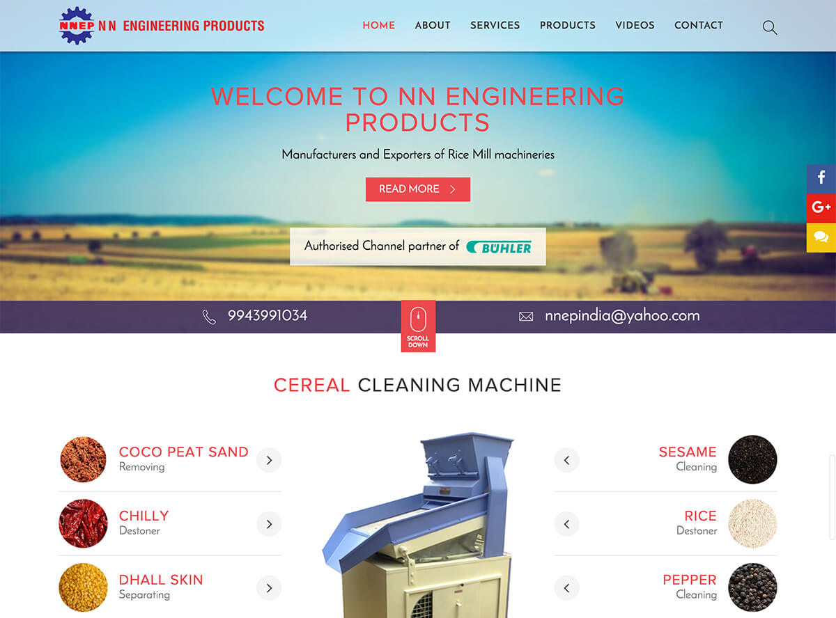 Manufacturers and exporters of rice mill machineries