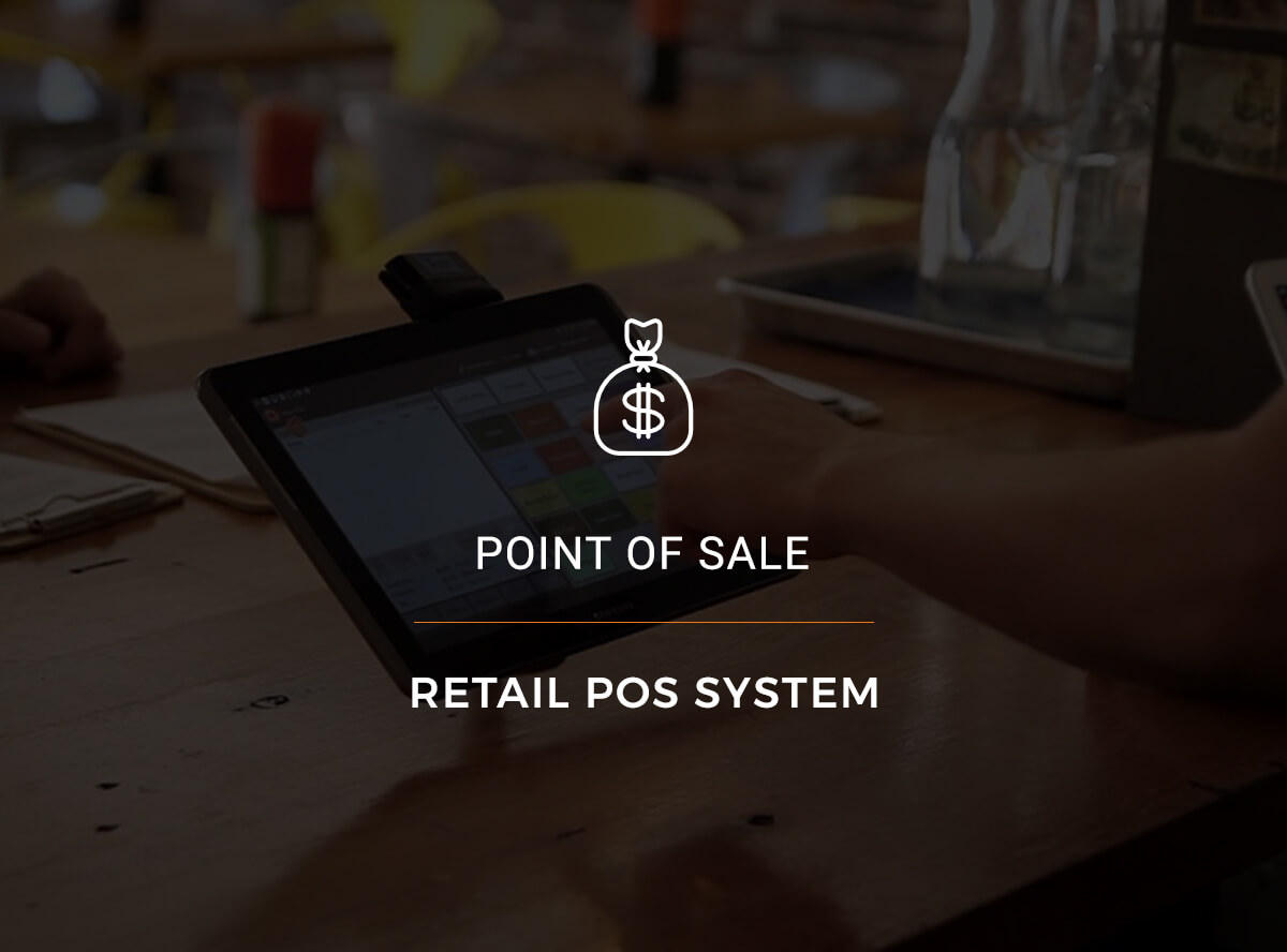 point of sale system - POS