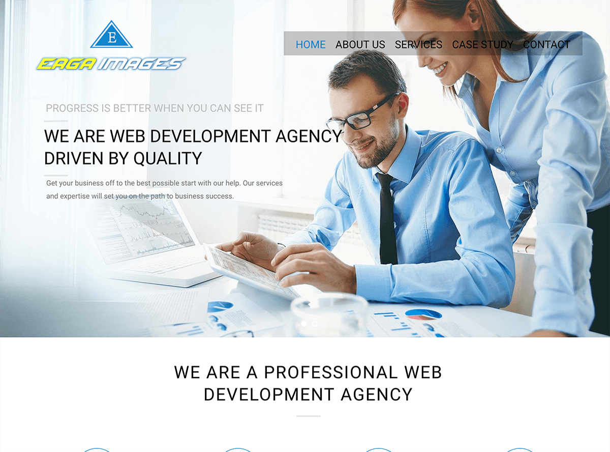 Best web development agency - Eaga images